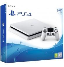 PS4 Slim 500Go Blanche