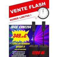 Systeme Amplifié IBIZA CUBE 204